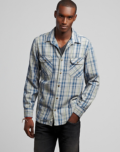 Ridge Rock Plaid Workwear Shirt*