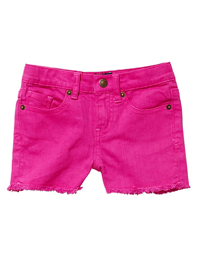 Riley Colorful Denim Shorts