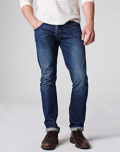 Riviera Club X Lucky Brand B-Dog Jeans
