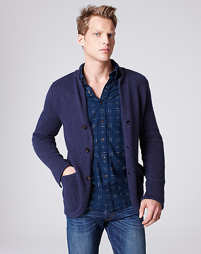 Riviera Club X Lucky Brand Bacara Sweater Blazer