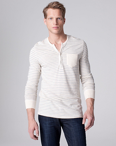 Riviera Club X Lucky Brand Skyview Striped Henley