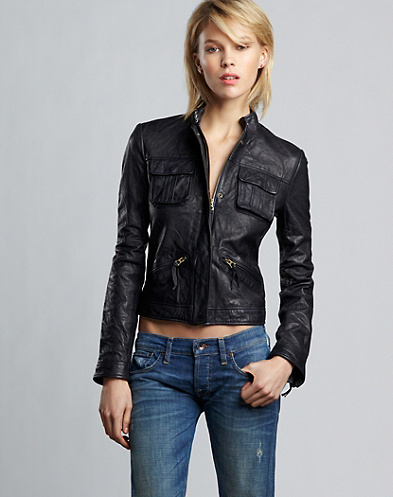 Saddle Stitch Moto Jacket*