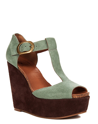 Sandy Colorblock Wedges*