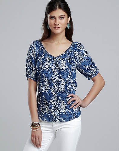 Sasha Printed Top*