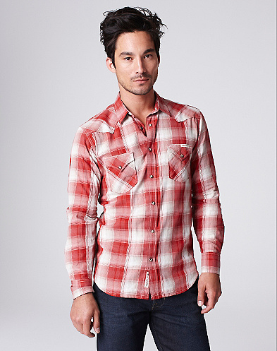 Sawtooth Plaid Western