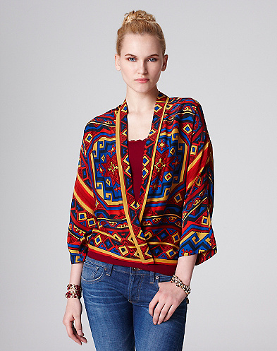 Scarf Kimono Jacket*