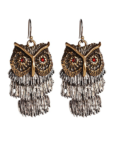 Shaky Owl Earrings