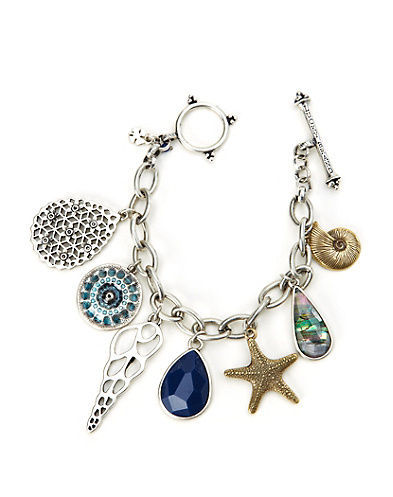 Shell Charm Bracelet