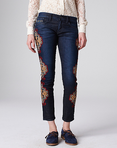 Sienna Cigarette Carpet Jeans