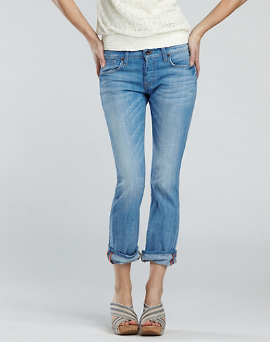 Sienna Crop Jeans*