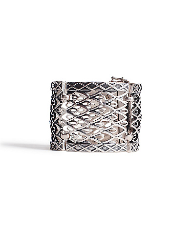 Silver Openwork Bracelet