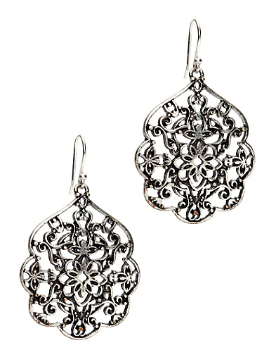 Silver Thai Butterfly Earrings*