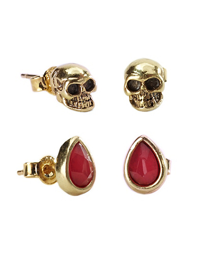 Skull Stud Earrings*