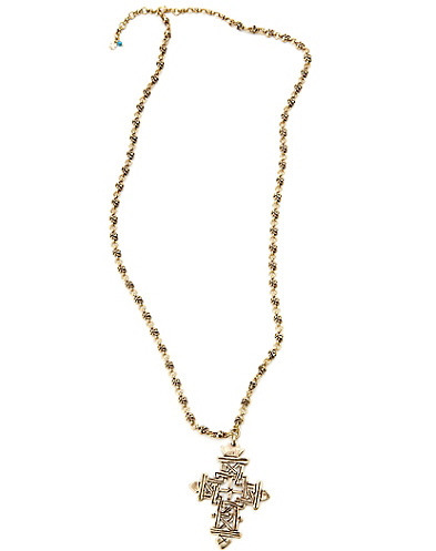 Skull and Cross Pendant Necklace*