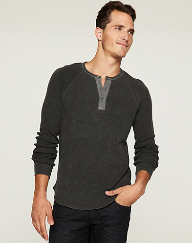 Slub Thermal Henley*