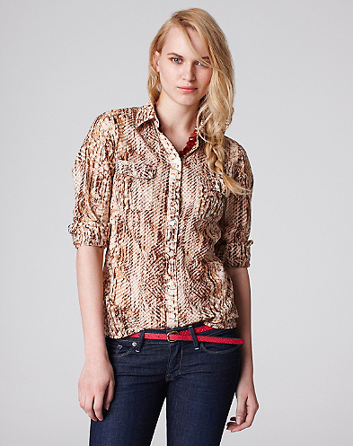 Snake Eyes Jane Blouse