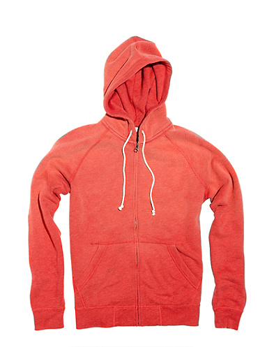 Solid Zip Hoodie*