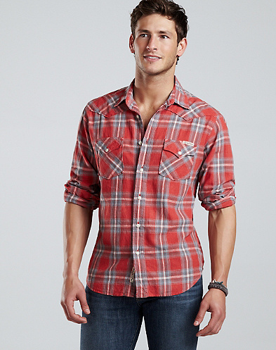 South Sun Plaid Western*