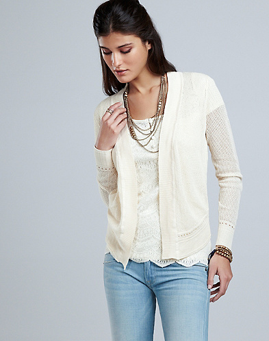 Square Stitch Cardigan