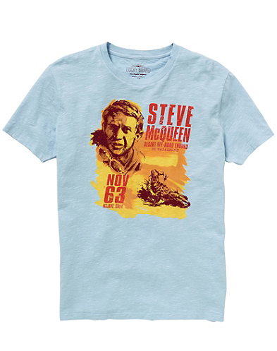 Steve McQueen 63 T-Shirt