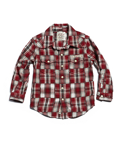 Straight Yoke Western Shirt*