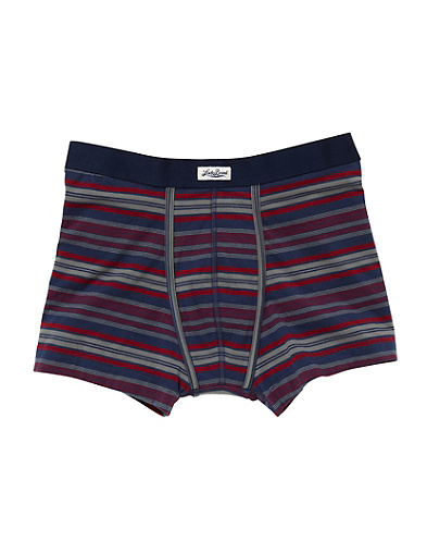 Stripe Knit Boxer Brief