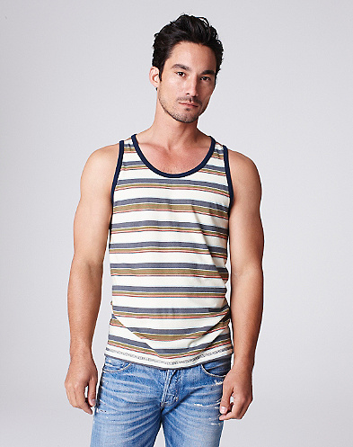 Summer Weight Striped Tank