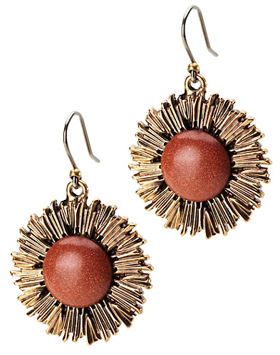 Sunburst Drop Earrings*
