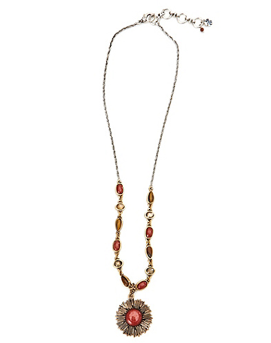Sunstone Pendant Necklace*