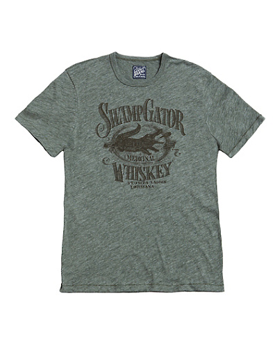 Swamp Gator Jaspe T-Shirt