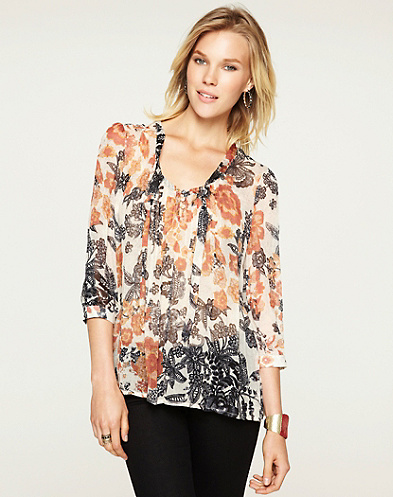 Talitha Floral Blouse*