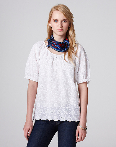 Taylor Eyelet Top*