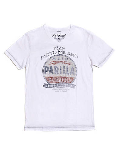 Team Moto Milano V-Neck T-Shirt*