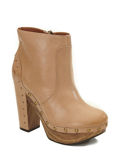 Terrace Studded Ankle Booties*