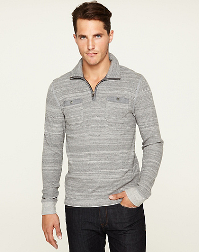 Textured Thermal Mockneck*