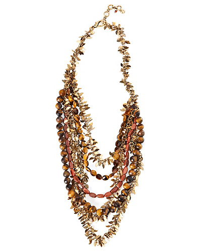 Tiger Eye Multi Layer Necklace*