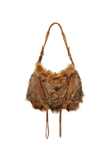 Toluca Lake Faux Fur Hobo*