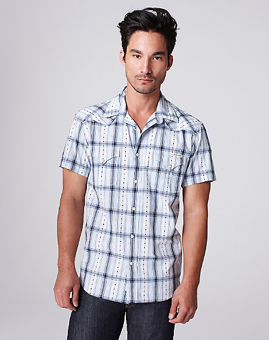 Traveler Plaid Western Shirt*