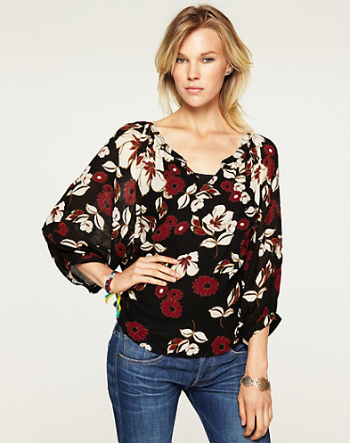Traveler Printed Top*
