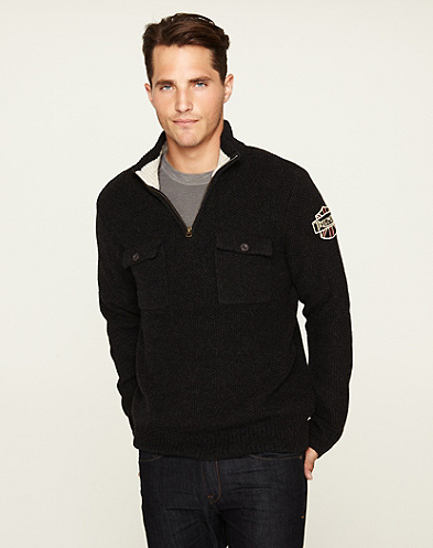 Triumph Half-Zip Sweater