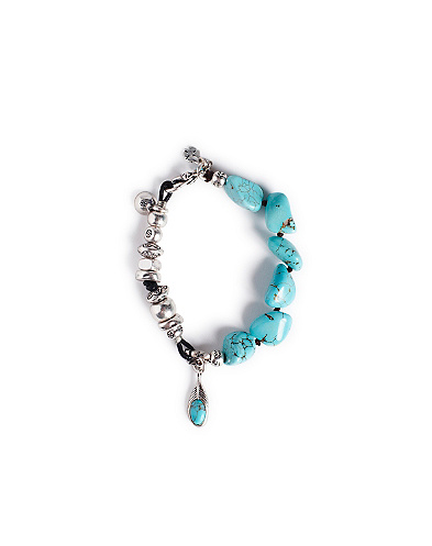 Turquoise Layer Bracelet