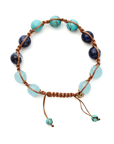 Turquoise Slide Knot Bracelet
