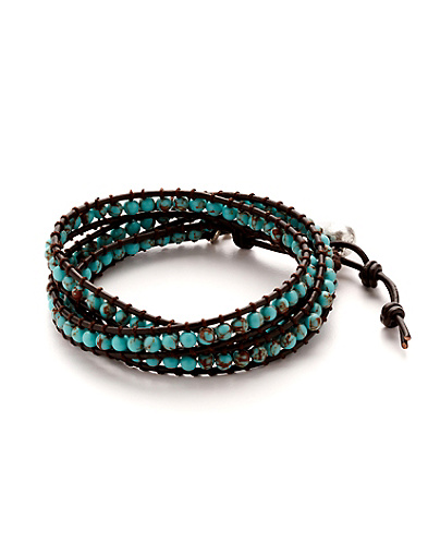 Turquoise Wrap Bracelet