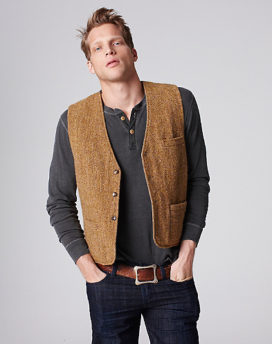 Tweed Stage Vest