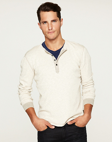 Twisted Slub Henley*