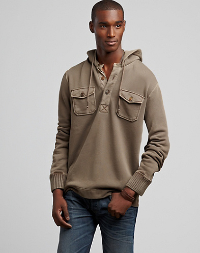 Two-Pocket Hoodie Pullover*