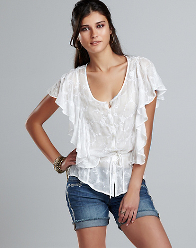 Veronique Lace Blouse*