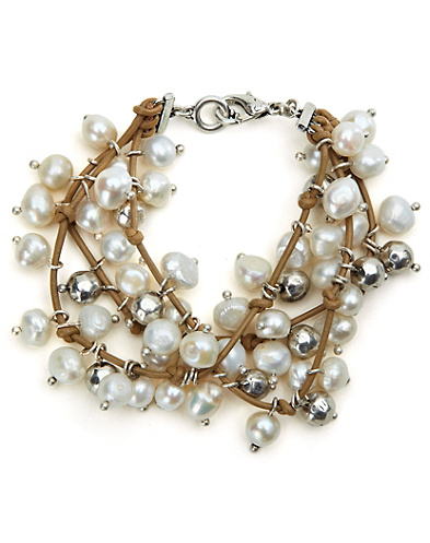 White Pearl Bracelet