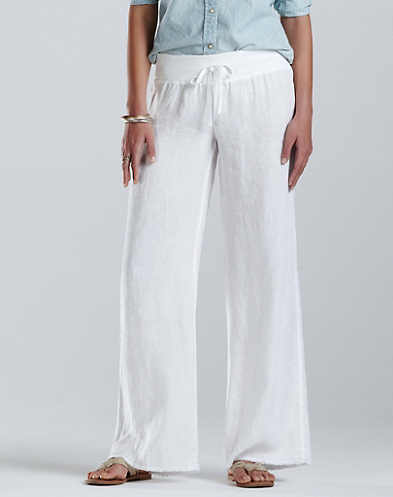 Wide Leg Drawstring Pants*