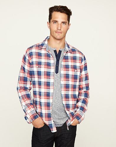 Wilco Plaid Two-Pocket Shirt